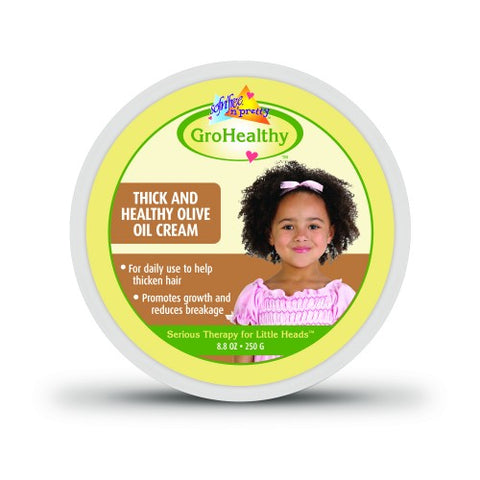 Sof n free pretty gro health thick and healthy olive cream