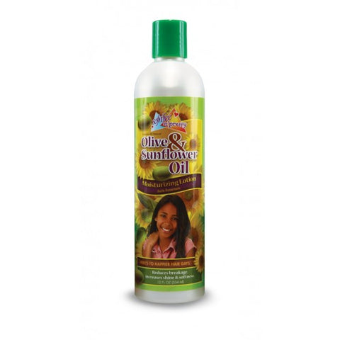 Sof n free pretty olive & s/flower oil moist lotion