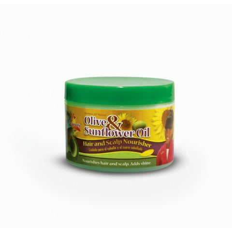 Sof n free pretty olive & sunflower hair and scalp nourisher