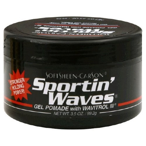 Sportin waves gel pomade black