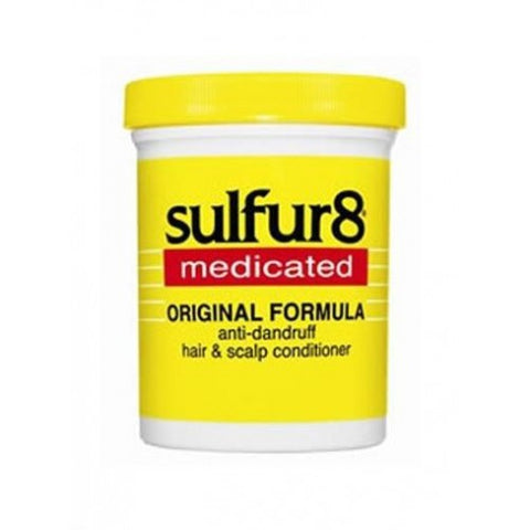 Sulfur 8 anti-dandruff hair & scalp conditioner 2oz
