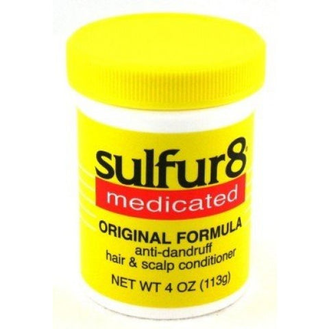 Sulfur 8 anti-dandruff hair & scalp conditioner 4oz