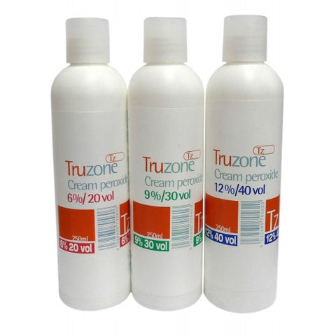 Tru zone cream peroxide 6% 250ml