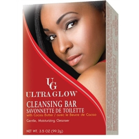 Ultra glow facial clean bar red