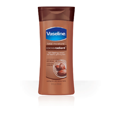 Vaseline cocoa radiant body lotion