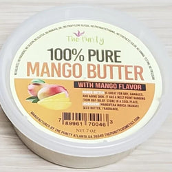 100% Pure Mango Butter with flavor 7oz