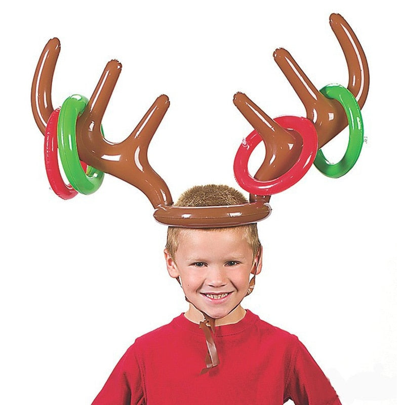 Gempages Inflatable Reindeer Ring Toss!