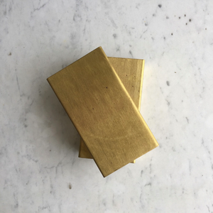 Brass cover