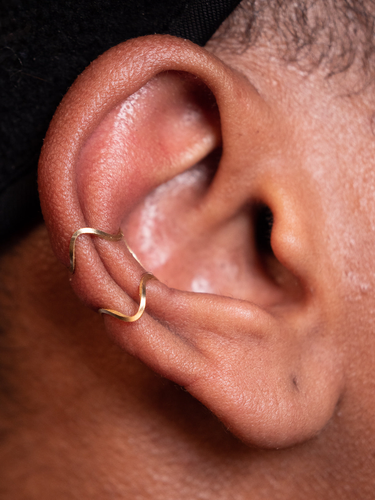 Wavekeeper X Ear Cuff