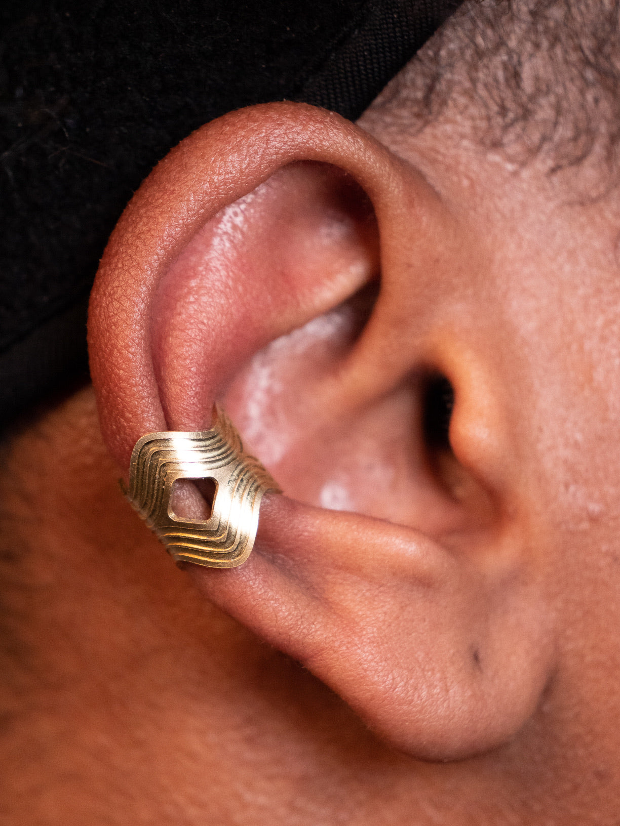 Wavekeeper Ear Cuff