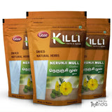 KILLI Gokshura | Nerunji Mull | Gokhru | Tribulus Terrestris | Nerinjil Crushed, 100g (Pack of 3)