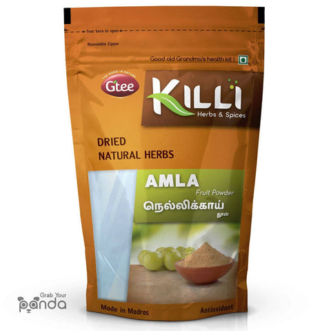 KILLI Amla | Nellikai | Usirikaya | Amalaki Fruit Powder, 100g