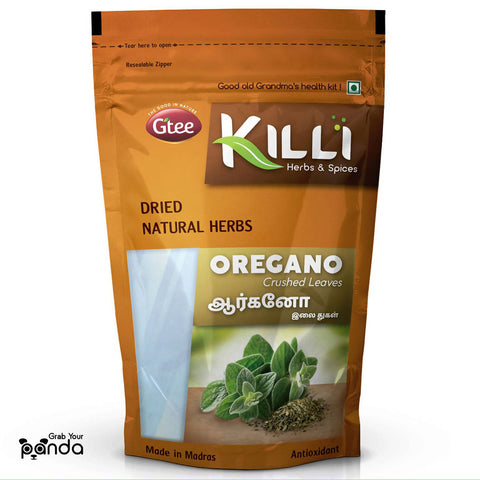 KILLI Oregano Leaves Crushed, 60g