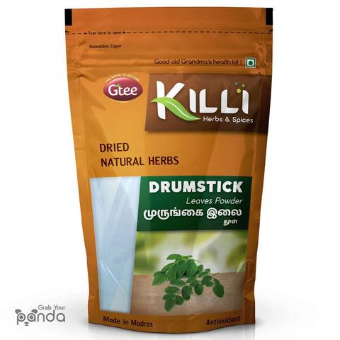 KILLI Drumstick | Murungai | Munagaku | Moringa Leaves Powder, 100g