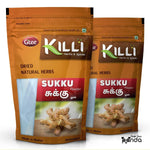 KILLI Dry Ginger | Sukku | Sonth | Chukku | Sonti | Onashunti Powder, 100g (Pack of 2)