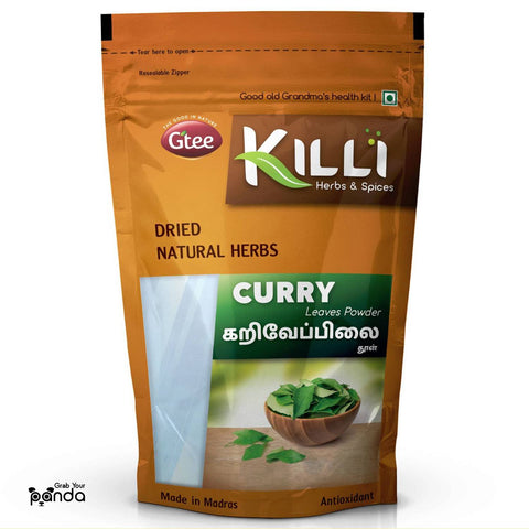 KILLI Curry | Kariveppilai | Karivepaku | Karibevu Leaves Powder, 100g