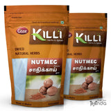 KILLI Nutmeg | Jathikai | Jaiphal | Jathikka | Jajikaya Powder, 100g (Pack of 2)