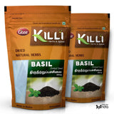 KILLI Basil | Thiruneetru Pachilai | Sabja Seed, 200g (Pack of 2)