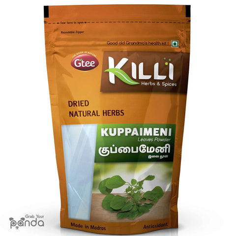KILLI Kuppaimeni | Indian Acalypha | Indian nettle Leaves Powder, 100g