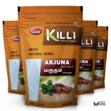 KILLI Arjuna | Marutham | Terminalia arjuna | Arjun Bark Powder, 100g, 100g (Pack of 4)