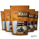KILLI Jamun | Syzygium Cumini | Naval Pazham Seed Powder, 100g (Pack of 5)