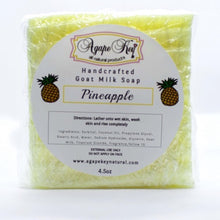 Load image into Gallery viewer, Goat Milk Pineapple Soap