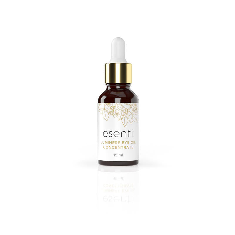esenti: luminere eye oil