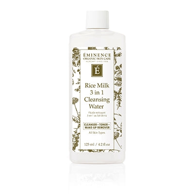 Rice Milk 3 in 1 Cleansing Water | Eminence Organic Skincare