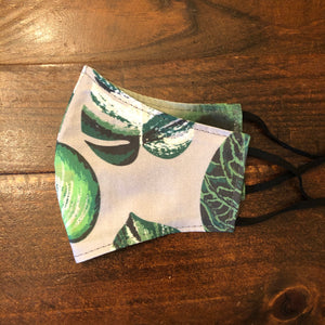 LG Face Mask {REVERSIBLE} - Plant Life///Greens