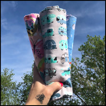 "Load image into Gallery viewer, ""Unpaper"" Towels - {Tye Dye Paws} - Additional Cost for Shipping"