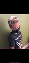 Load image into Gallery viewer, KIDS Face Mask {REVERSIBLE} - Fortnite/Black