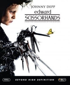 LG Face Mask {REVERSIBLE} - Edward Scissorhands///Butterflies