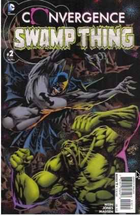 CONVERGENCE SWAMP THING ISSUE #2 DC | 2015