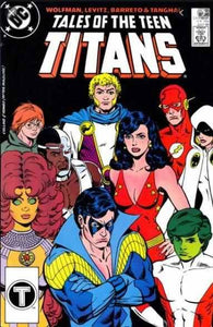 TALES OF THE TEEN TITANS #91  | DC | 1988 | LAST ISSUE