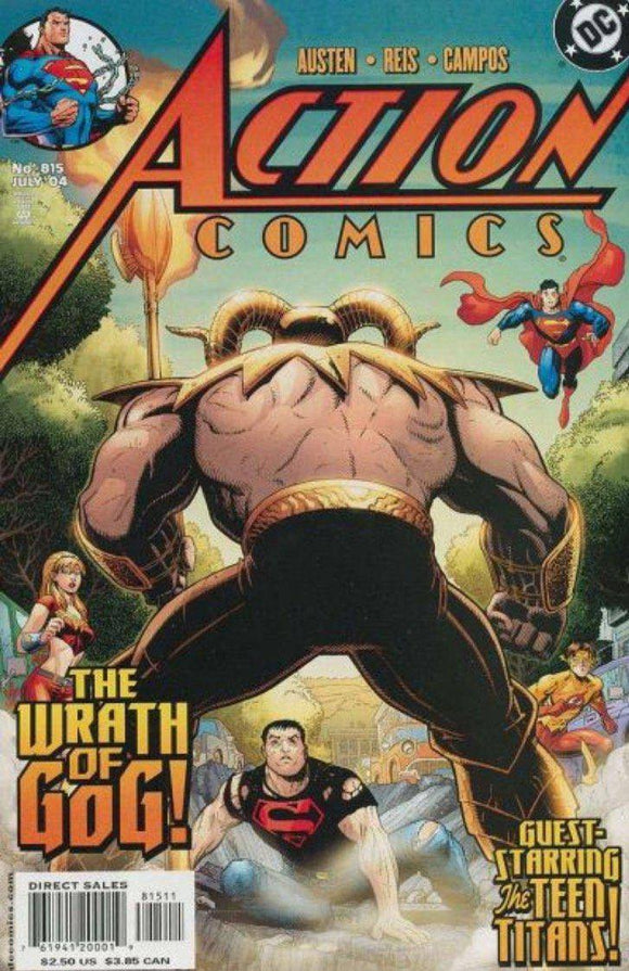 ACTION COMICS ISSUE #815 DC | MAY 2004