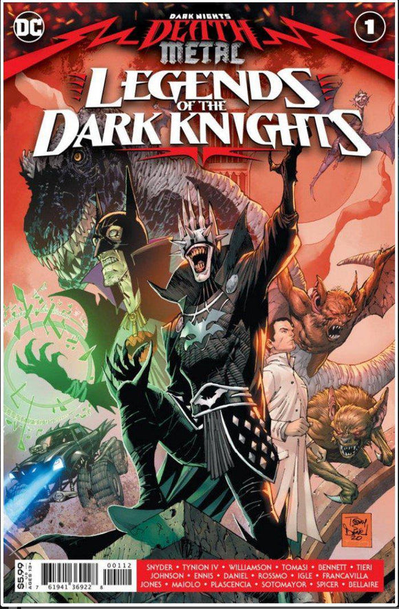 DARK NIGHTS: DEATH METAL - LEGENDS OF THE DARK KNIGHTS #1C | DC | AUG 2020