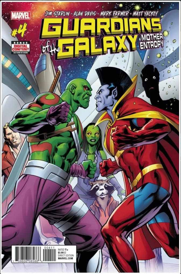 GUARDIANS OF THE GALAXY: MOTHER ENTROPY #4 | MARVEL | MAY 2017