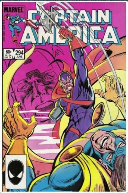 CAPTAIN AMERICA VOL 1 #294 | MARVEL | JUN 1984