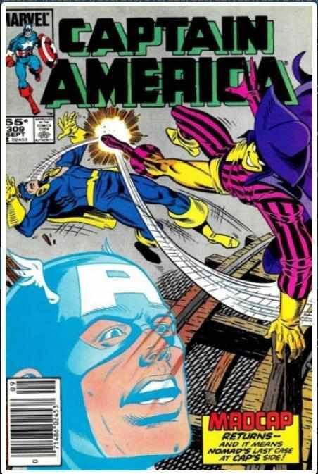 CAPTAIN AMERICA VOL 1 #309 | MARVEL | SEP 1985
