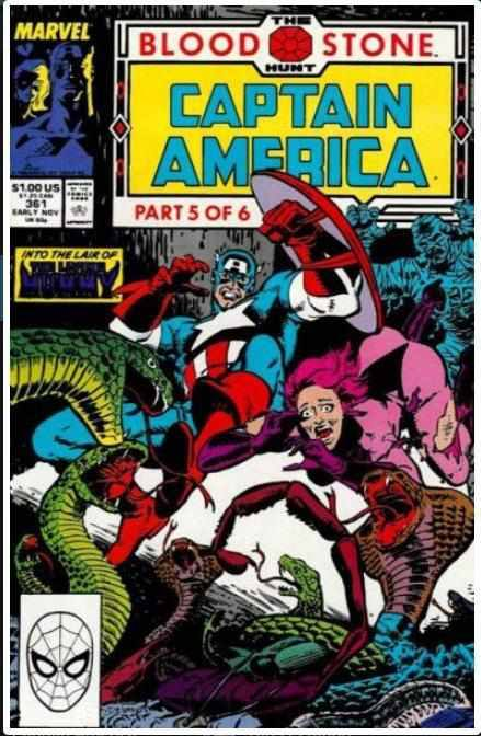 CAPTAIN AMERICA VOL 1 #361 | MARVEL | NOV 1989