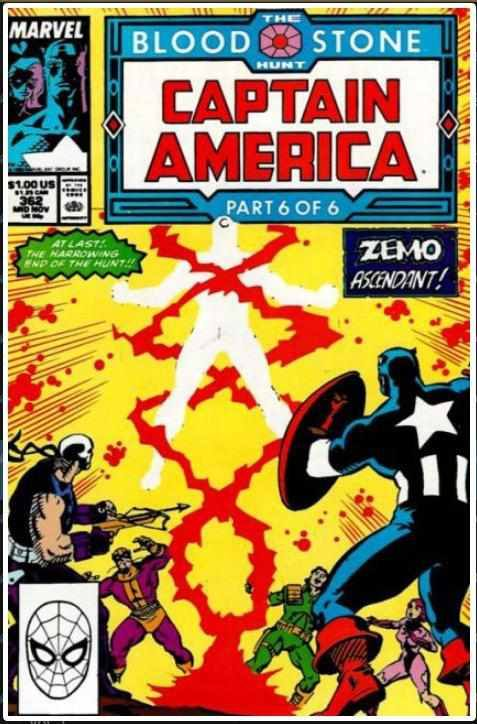 CAPTAIN AMERICA VOL 1 #362 | MARVEL | NOV 1989