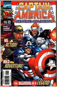 CAPTAIN AMERICA: SENTINEL OF LIBERTY #1 | MARVEL | SEP 1998