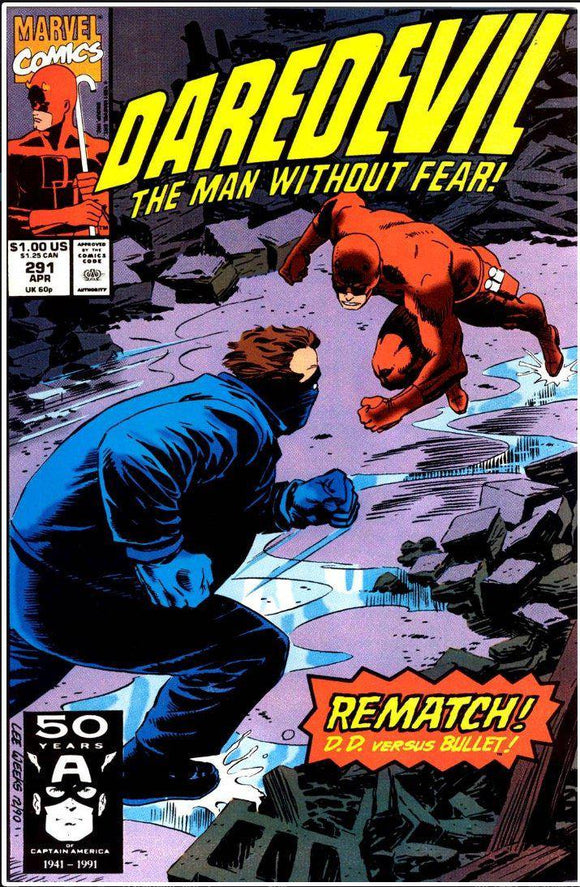 DAREDEVIL VOL 1 #291 | MARVEL | APR 1991