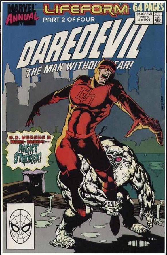 DAREDEVIL VOL 1 ANNUAL #6 | MARVEL | 1990