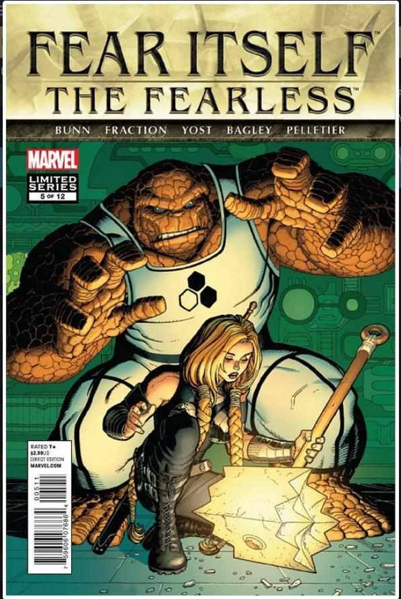 FEAR ITSELF: THE FEARLESS #5 | MARVEL | DEC 2011