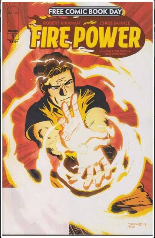 FREE COMIC BOOK DAY 2020 (FIRE POWER) #1 | IMAGE | JUL 2020