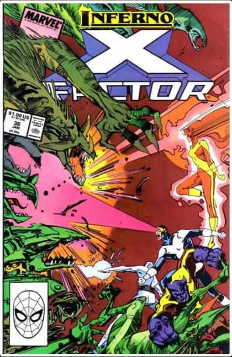 X-FACTOR VOL 1 #36 | MARVEL | JAN 1989