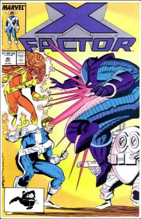 X-FACTOR VOL 1 #40 | MARVEL | JAN 1989
