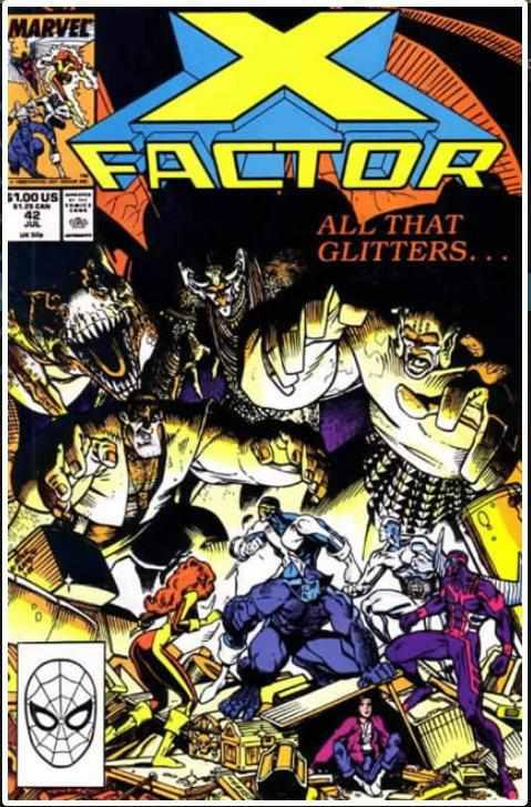 X-FACTOR VOL 1 #42 | MARVEL | MAR 1989