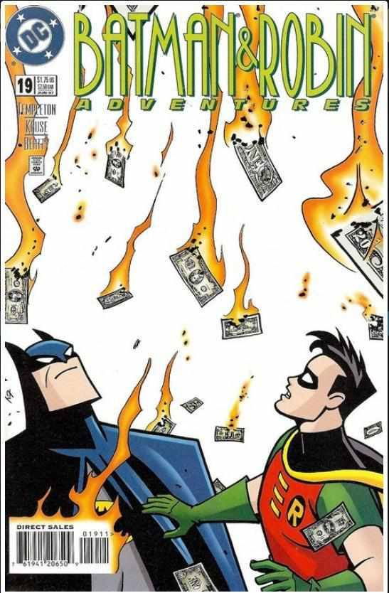 BATMAN & ROBIN ADVENTURES #19 | DC | APR 1997